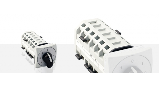 Cam switches for industrial machines segment