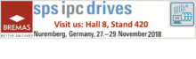 SPS IPC Drives : Nuremberg, Germany, 27-29 November 2018